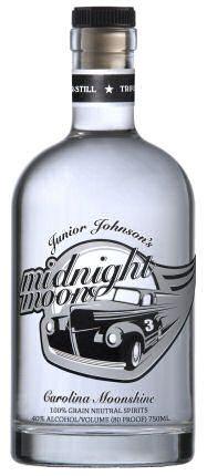 Liquorama - Junior Johnson's Midnight Moon Carolina Moonshine 750ml, $17.99 (http://www.liquorama.net/junior-johnsons-midnight-moon-carolina-moonshine-750ml.html)