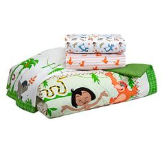 The Jungle Book Crib Bedding Set for Baby - Personalizable