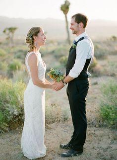 Photography: Kurt Boomer Photo - kurtboomerphoto.com  Read More: http://www.stylemepretty.com/2011/06/23/diy-california-desert-wedding-by-kurt-boomer-photo/