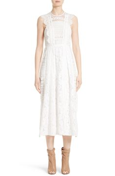 New BURBERRY Annabella Mixed Lace Dress fashion online. [$1750]?@shop hoodress<<