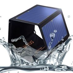 SOKOO 22W 5V 2Port USB Portable Foldable Solar Charger with High Efficiency Solar Panel Reinforced and Waterproof for Cell Phone iPhone Backpack and Outdoors Black > Click for more Special Deals #SolarCharger