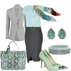"""""""For the office 4"""" by yasminasdream on Polyvore"""