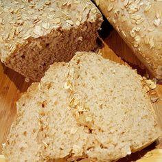 Pão Integral de 3 Farinhas