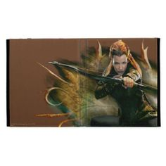 The Hobbit: The Desolation of Smaug Tauriel iPad Folio Cover. For order or details click on the image!