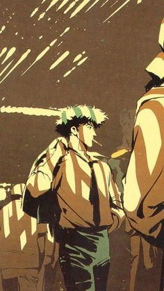 Cowboy Bepop The core forged of Netflix's live-action series adaptation of Cowboy Bebop has been unconcealed, and it'. Aesthetic Art, Aesthetic Anime, Blue Exorcist, Cowboy Bebop Wallpapers, Manga Anime, Anime Art, Cowboy Bepop, Cowboy Bebop Anime, See You Space Cowboy