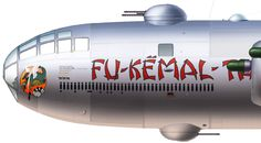 B29 Bomber nose art