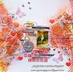 Autumn layout and something else / Jesienne LO i jeszcze co� :)