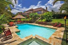 Kula Upcountry Estate, Kula, Maui, Hawaii - our home in paradise last week.