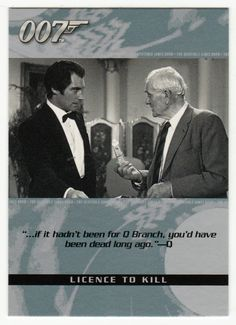 James Bond - The Quotable # 16 - Licence To Kill