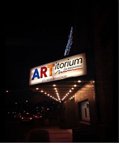 ARTitorium is the perfect place for your smaller theater events or unique parties.