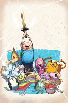 Adventure Time #10 Cover by tysonhesse on @DeviantArt
