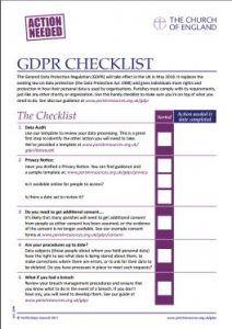Gdpr Compliance Checklist Gdpr In 2019 Gdpr Compliance