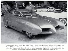 The Sports Car of the Future, the BAT VII
