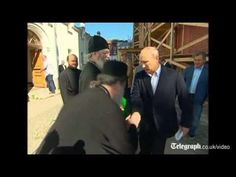 Vladimir Putin's Reaction To Hand Kiss  - #funny #VladimirPutin #Kiss