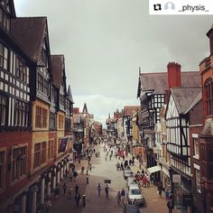 Great shot of Chester! 😍 Thanks for sharing with #MyChesterStory @_physis…