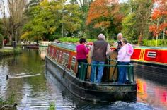 River Wey Boating Holidays & Day Boat Hire Guildford Boat House #Narrowboat #Holiday #Boats