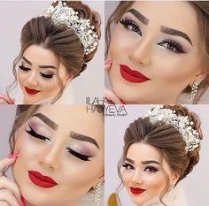 Bride Makeup, Wedding Makeup, Beauty Make Up, Hair Beauty, Eye Makeup, Hair Makeup, Beauty Care Routine, Arabic Makeup, Makeup Studio