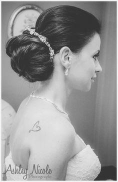 Traditional Wedding Details- Bridal hair