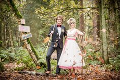 Autumn Woodland Wedding Inspiration from the Netherlands