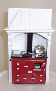how to: miniature aga cooker - scroll down for images and some drawings