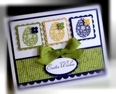 Me, My Stamps and I: Easter Blossoms