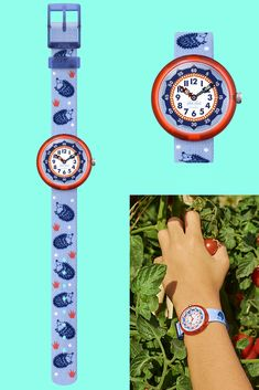 An unforgettable gift for children who love wildlife, HEDGEHUGS (ZFBNP148) combines Swiss precision with a playful design. Its charming hedgehog print will make it stand out from the crowd, and the case is outlined in an eye-catching orange. This blue washable watch for kids has a comfy textile strap and a plastic case that's both shock- and water-resistant. Plastic Case, Gifts For Kids, Crowd, Hedgehog, Swatch, Wildlife, Textiles, Comfy, Orange