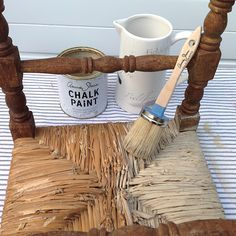 Painting-rush-with-chalk-paint-2