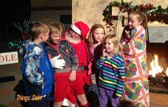 Santa at Tuacahn Christmas in the Canyon - things2doinutah.com #santa #utah