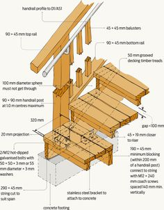 Timber stairs construction   Google Searchtimber stairs construction   Google Search   6 13 16   Pinterest  . Outdoor Timber Stair Construction. Home Design Ideas