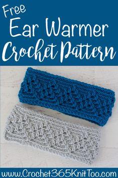 Michigan Mountain Crochet Ear Warmer - Crochet 365 Knit Too Easy and fast croch. Michigan Mountain Crochet Ear Warmer – Crochet 365 Knit Too Easy and fast crochet ear warmer! Crochet Abbreviations, Crochet Stitches, Crochet Hooks, Crochet Patterns, Knitting Patterns, Fast Crochet, Mode Crochet, Crochet Headband Free, Crochet Beanie