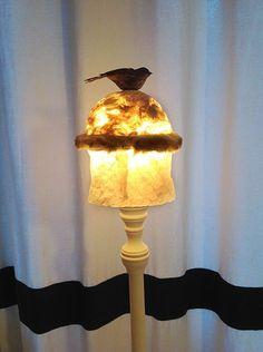 Lampshades/Lampenkapjes Coupe Femme Oiseau door MargrietThissen