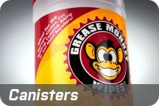 Grease Monkey Wipes are sold in canisters and individual packets. Check out our canisters.