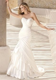 Wedding dress - from The Knot