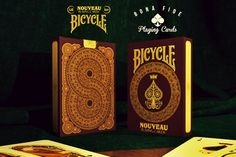 NOUVEAU Bicycle Playing Cards.... And tell them Lin Rhys sent you, hehe ;)