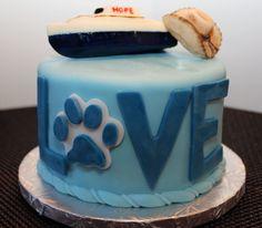 A custom cake for Valentine's Day