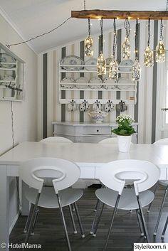 lautashylly,keittiö,ruokapöytä,valaisin,Tee itse - DIY