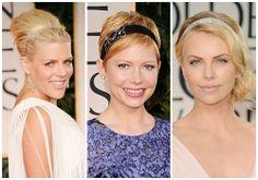 Golden Globes 2012 Trend: Haute Headbands