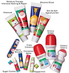 The perfect stocking stuffer kit! $9.99 for 12 pieces! 4 hand creams, 4 chapsticks. 3 kids body paints and 1 emery board. www.youravon.com/lexirobinson
