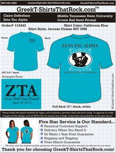 Zeta Tau Alpha Crown Ball Semi-Formal  http://www.greekt-shirtsthatrock.com/