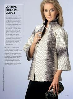 Vogue 1385 as a jacket