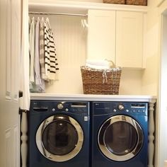 Superbe Laundry Closets Design Ideas Cabinets, Storage And Hanging Space