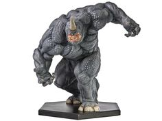 Marvel Comics 1/10 Scale Statue - Rhino Comic Book Characters, Marvel Characters, Comic Books Art, Comic Art, Marvel Movies, Marvel Villains, Marvel Comics Art, Marvel Statues, Fantasy Miniatures