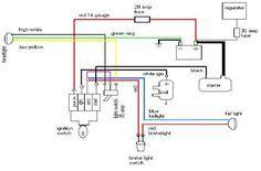 77 cb750 wiring diagram  | 1000 x 1414