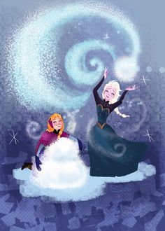 Do You Want To Build A Snowman? | by dear-chemistry @deviantART