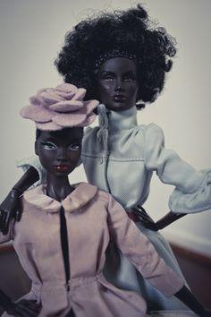 DEVOUTFASHION/High Society Black barbies