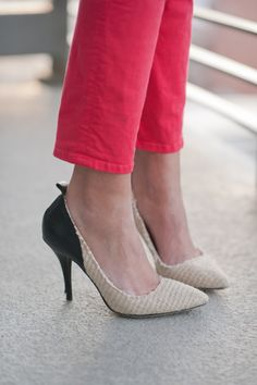 Isabel Marant and cherry red