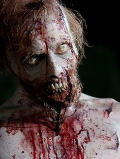AMC`s The Walking Dead Season 2 Swamp Walker that killed Dale played by Kevin