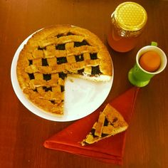 Crostata di farina integrale bio (pie of wholewheat flour)
