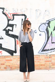 1.375 BLACK CULOTTE www.you-arethe-one.com