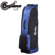 Confidence Golf Bag Travel Cover ROYAL BLUE by Confidence. $55.53. Heavy Duty Anti-Burst strapping system. Top grab handle. Deluxe double skid bars for long life. Premium all-weather 600-D Polyester material for extreme durability. In-line wheels for easy transportation. Extra thick padding to further protect your gear. Recommended by airlines.